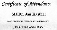 Prague LASER day - kurs-mini