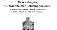 SPÁNKOVÁ MEDICÍNA - kurs diagnostiky a terapie spánkových poruch - Mannheim 2007-mini