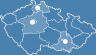 Mapa umístění klinik