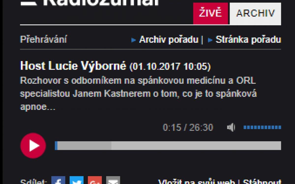 Český rozhlas / říjen 2017