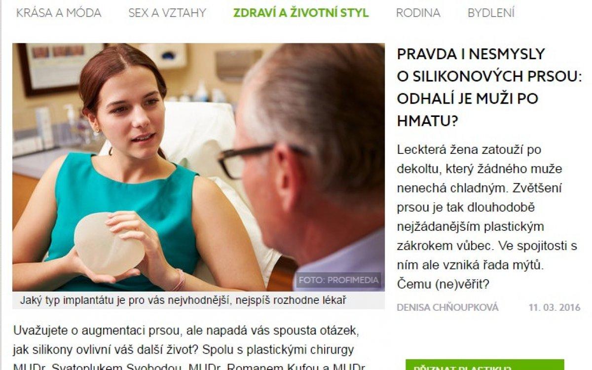 Zdeněk Pros a Roman Kufa vyvrací mýty o zvětšení prsou
